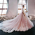 New Blush Elegant Princess A-Line Wedding Dresses Off Shoulders Cap Sleeves Lace