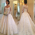 2020 Lace Wedding Dresses Elegant Long Sleeve Square Neckline Buttons Back Court