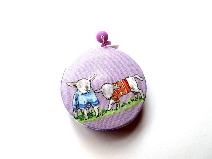 Measuring Tape Sweater Sheep and Cats Small Retractable Tape Measure
