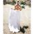 2020 Western Country Bohemian Garden Wedding Dresses Sexy Back Deep V Neck