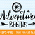 Adventure Awaits Adventure Begins svg Adventure svg Exploring svg Mountains svg