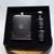 Hip Flask Set with Funnel and Designed Shot Cups Lifesaver Storm Eye Stainless