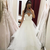 Elegant White Tulle A Line Prom Dresses, Beaded White Wedding Dresses