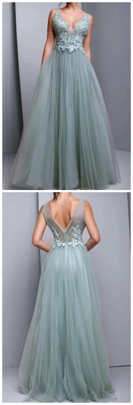 Tulle Evening Dress,Prom Dresses