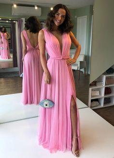 pink Party Dress Evening Dress Sexy Cocktail Dress
