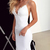 Sexy Mermaid Wedding Dresses Deep V Neck Spaghetti Straps Appliques Lace Satin