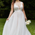 Vintage Country Lace Plus Size Wedding Dresses Sheer V Neck A Line Tulle Wedding