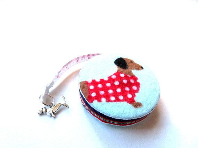 Measuring Tape Sweater Dachshunds Dogs Small Retractable Tape Measure