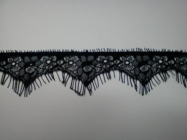 Black Eyelash Lace*
