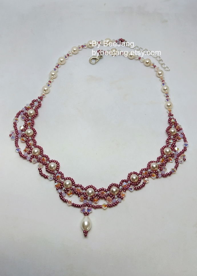 Necklace Tutorials - Varanas Necklace - Beading Pattern - Digital Download PDF
