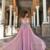 Deep v neck prom dress,tulle party dress,sexy evening dress F6779