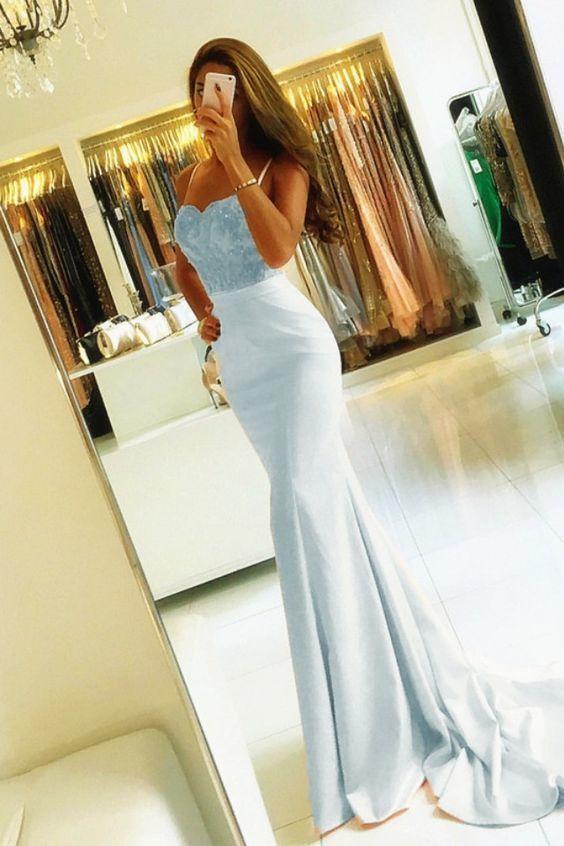Prom Dresses Lace Appliques Off Shoulder Evening Gowns