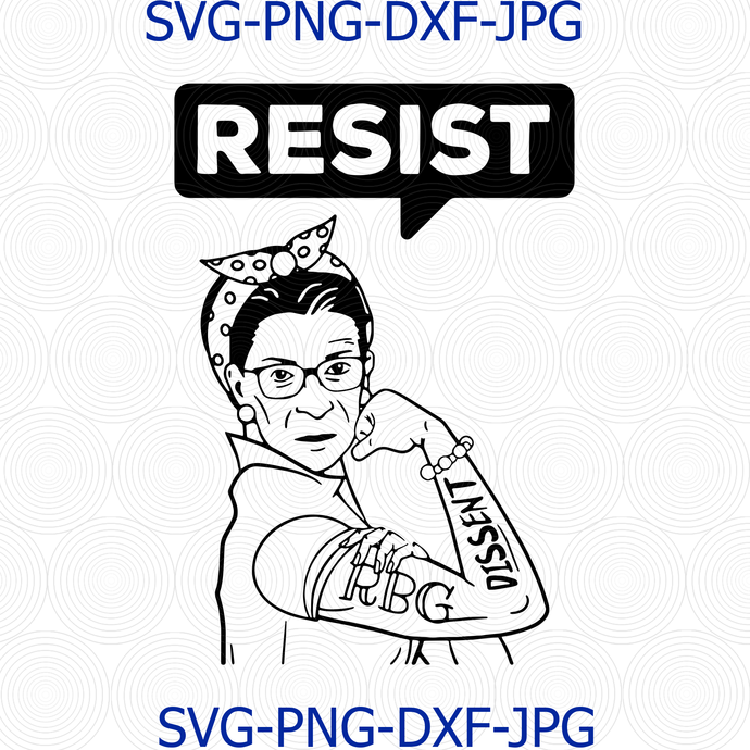 Ruth Bader Ginsburg, What Would Do Notorious, RBG Feminism Protest Girl, Women