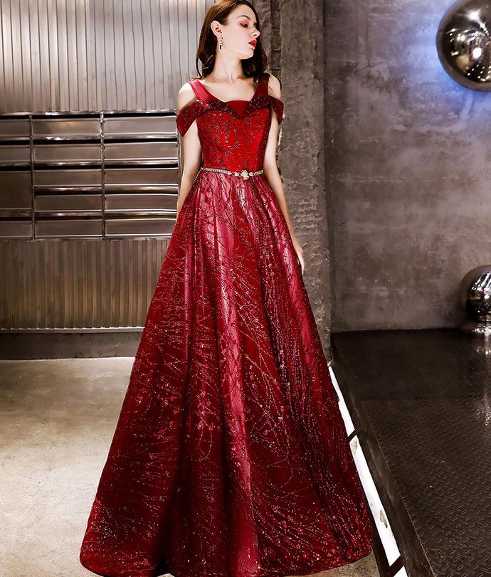 Glitter Lace-Up Cold Shoulder Grey Prom Dress 8002096