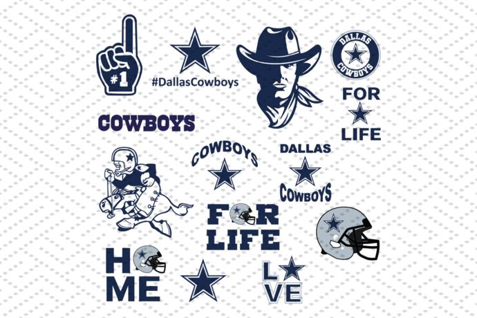 Dallas Cowboys svg, NFL svg, football svg file, football logo, NFL football, NFL