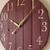 "28"" Large wall clock. Living room decor. Rustic home decor. Farmhouse wall"