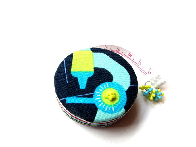 Retractable Tape Measure Science Theme Small Tape Measure