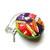 Tape Measure Rainbow Spools of Thread Small Retractable Measuring Tape