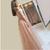 A-line Pink Long Prom Dresses 2020 Lace Off The Shoulder  Vintage Evening