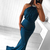 2020 Halter Mermaid Long Prom Dresses Sexy Red  Evening Dress Party Elegant With