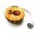 Retractable Tape Measure Flannel Sunflowers Small Measuring Tape