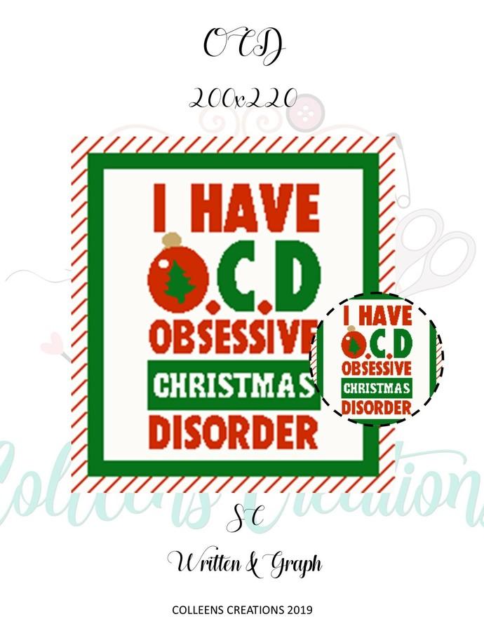 OCD - Crochet Written and Graph Design