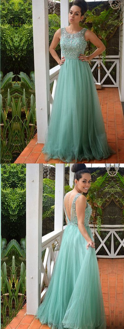Newest Beading A-Line Sexy Prom Dresses,Long Prom Dresses,Cheap Prom Dresses,
