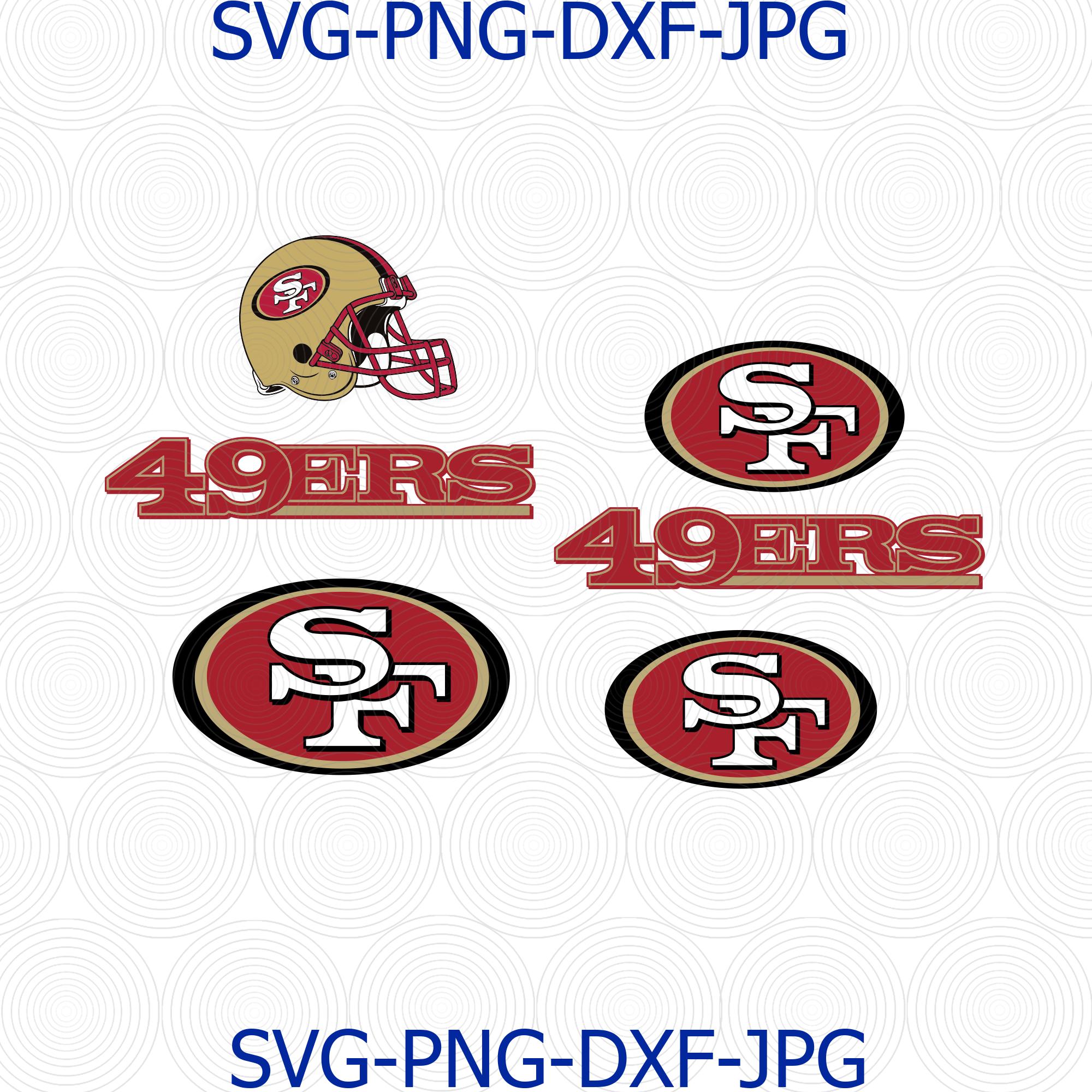 Sanfrancisco 49ers Svg 49ers Svg Sanfrancisco By Digital4u On Zibbet
