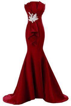 Plus Size Prom Dress, Burgundy Prom Dresses,Prom Dress,Burgundy Prom Gown