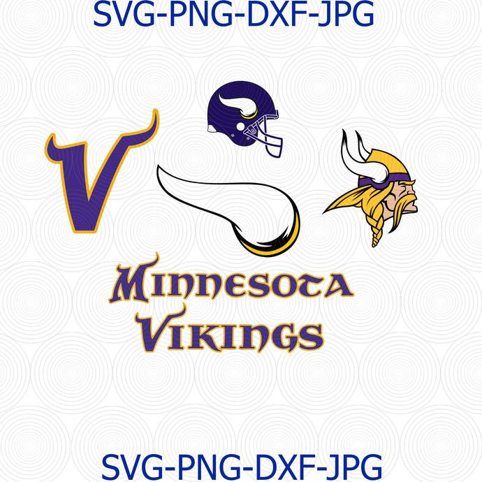 Minnesota Vikings Svg Minnesota Vikings Nfl By Digital4u On Zibbet