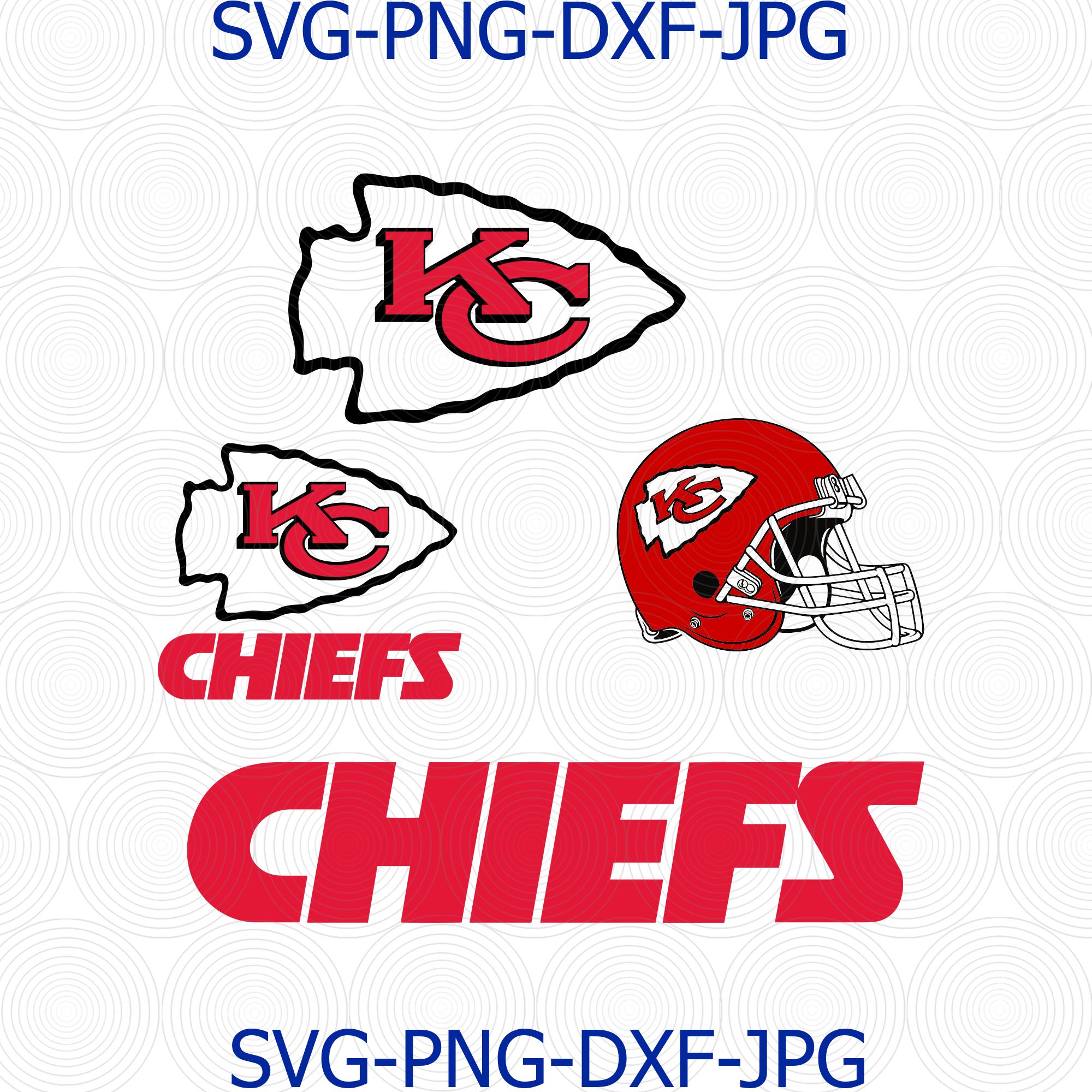 Download Kansas city Chiefs SVG, Kansas city Chiefs logo, by ...