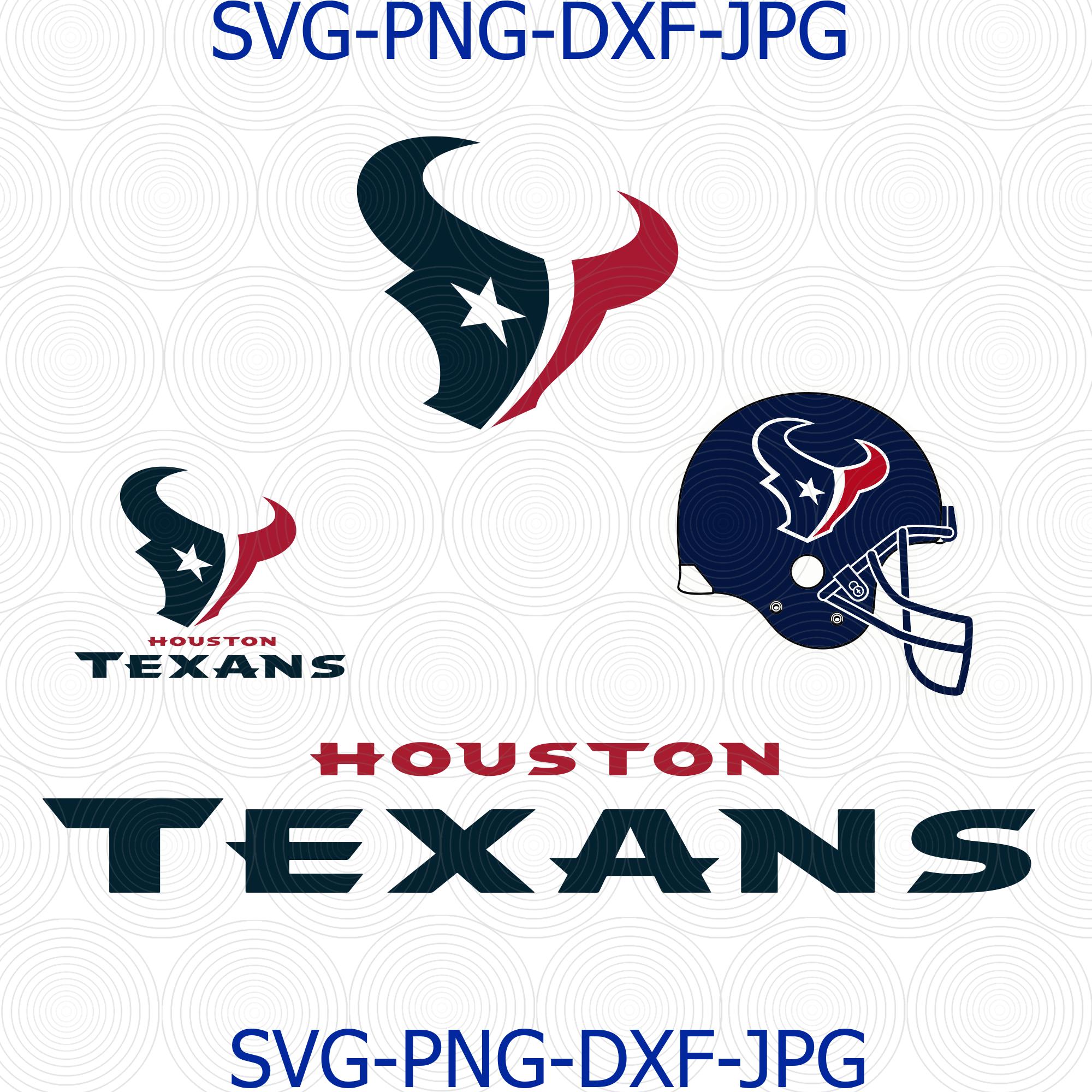 Houston Texans Svg Houston Texans Logo Texans By Digital4u On Zibbet
