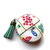 Measuring Tape Mah Jong Tiles Small Retractable Tape Measure
