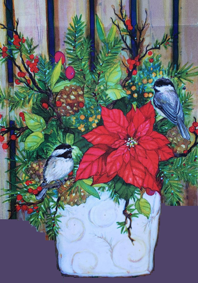Chickadee Greeters Cross Stitch Pattern***LOOK***X***INSTANT DOWNLOAD***