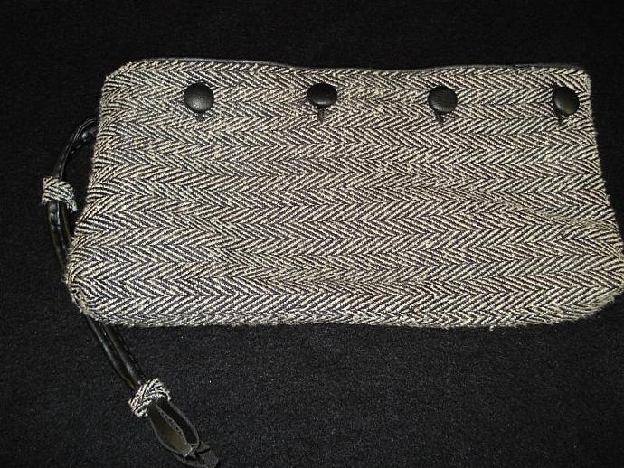 Black and White Clutch Revalued from Jumpsuit