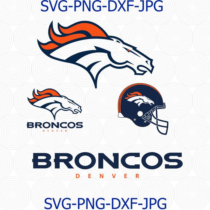 Denver Broncos Logo SVG