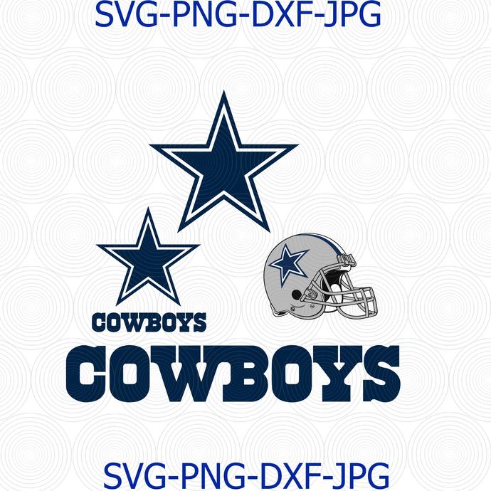 Dallas Cowboys Svg Dallas Cowboys Logo Dallas By Digital4u On Zibbet