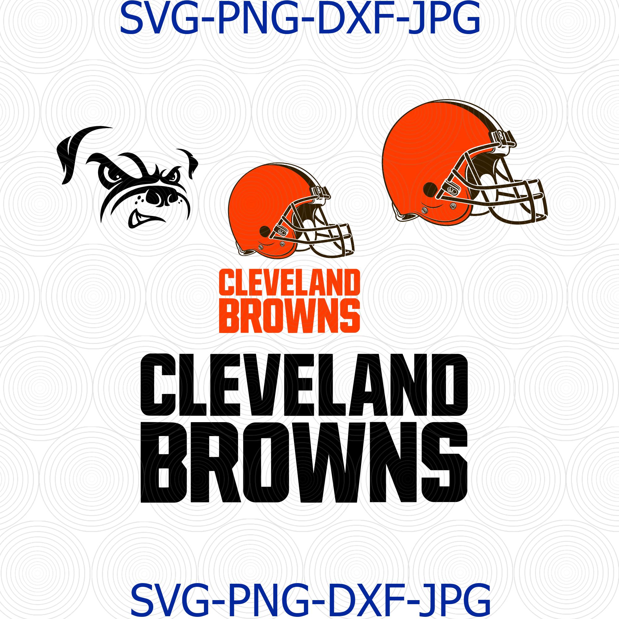 Cleveland Browns SVG, Cleveland Browns logo, by Digital4U ...