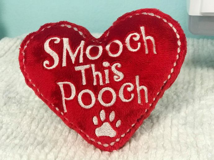Softie - Heart Shaped Dog Toy
