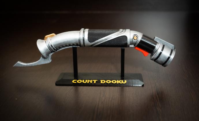 Count Dooku lightsaber | Star Wars Props | star wars gift | Star Wars Replica