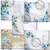 Blue Blossoms Digital Printable Junk Journal Kit Scrapbook