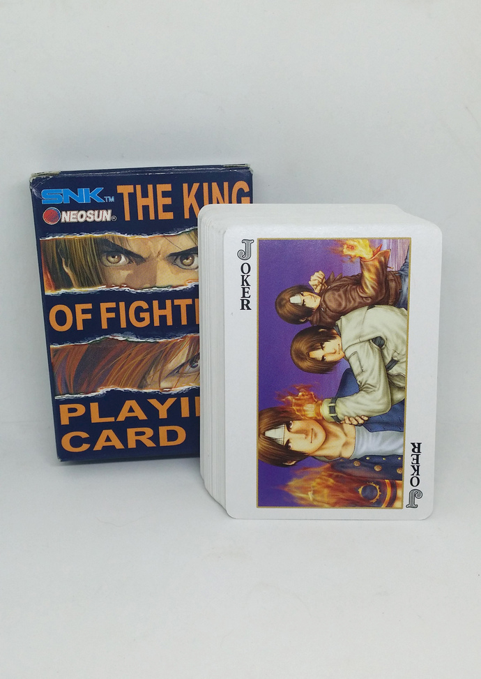 The King Of Fighters Promo Playing Cards - SNK Hong Kong Comics KOF