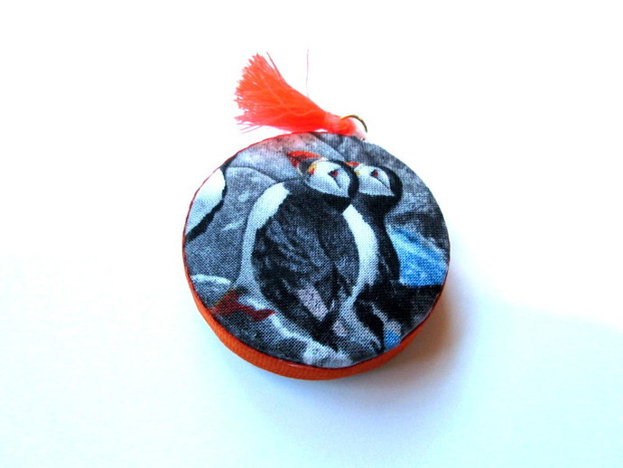 Tape Measure Realistic Puffins Small Retractable Tape Measure