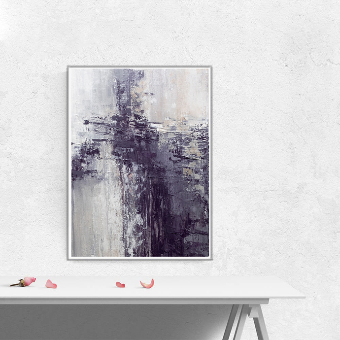Printable abstract, contemporary art, print from original painting, pastel