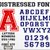 Varsity Distressed font letters numbers OTF | SVG | PNG| DIY Projects