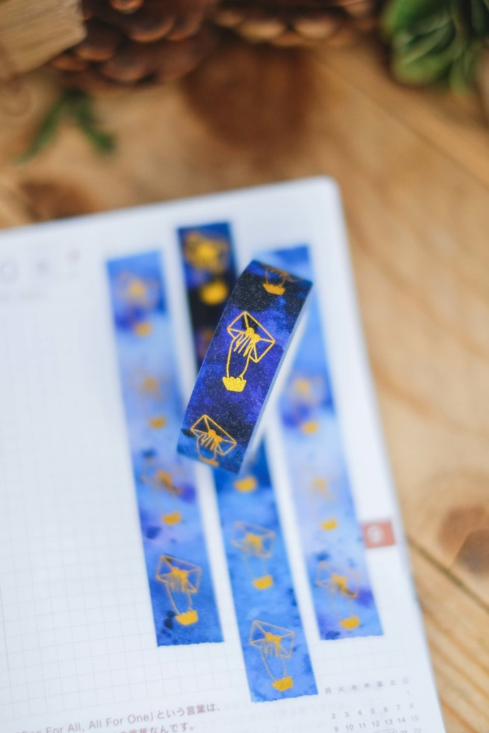 London Gifties original lustre design tape - Handing Envelope - Dreamy Lavender