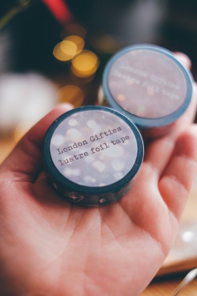 London Gifties original lustre design tape - Holding Pen - Splashes & Sprinkles