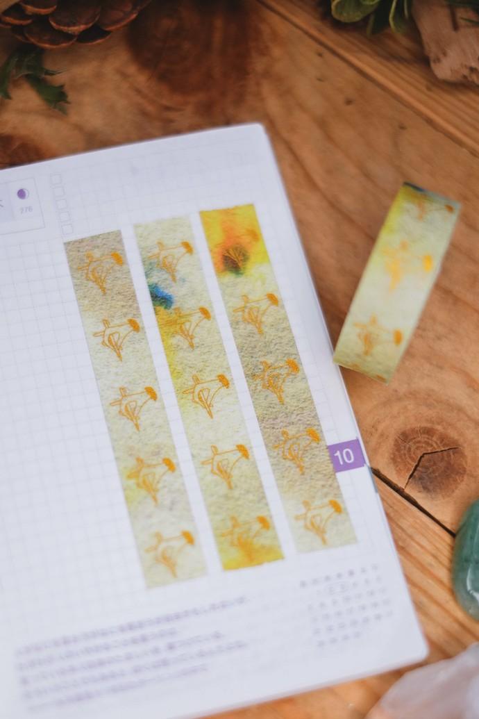 London Gifties original lustre design tape - Holding Pen - Burned Paper -