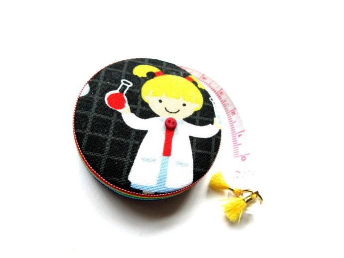 Retractable Tape Measure Girls Rock Science Tape Measure