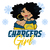 Los Angeles Chargers svg,nfl svg, Football svg file, Football logo,nfl fabric,